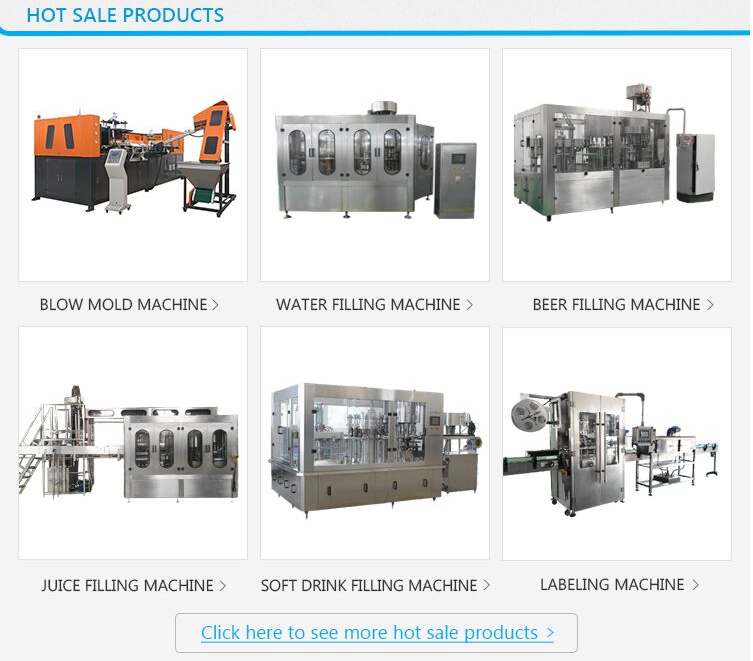 Price automatic plastic bottle sparkling water beverage filling production line / carbonated soft drink bottling machine
