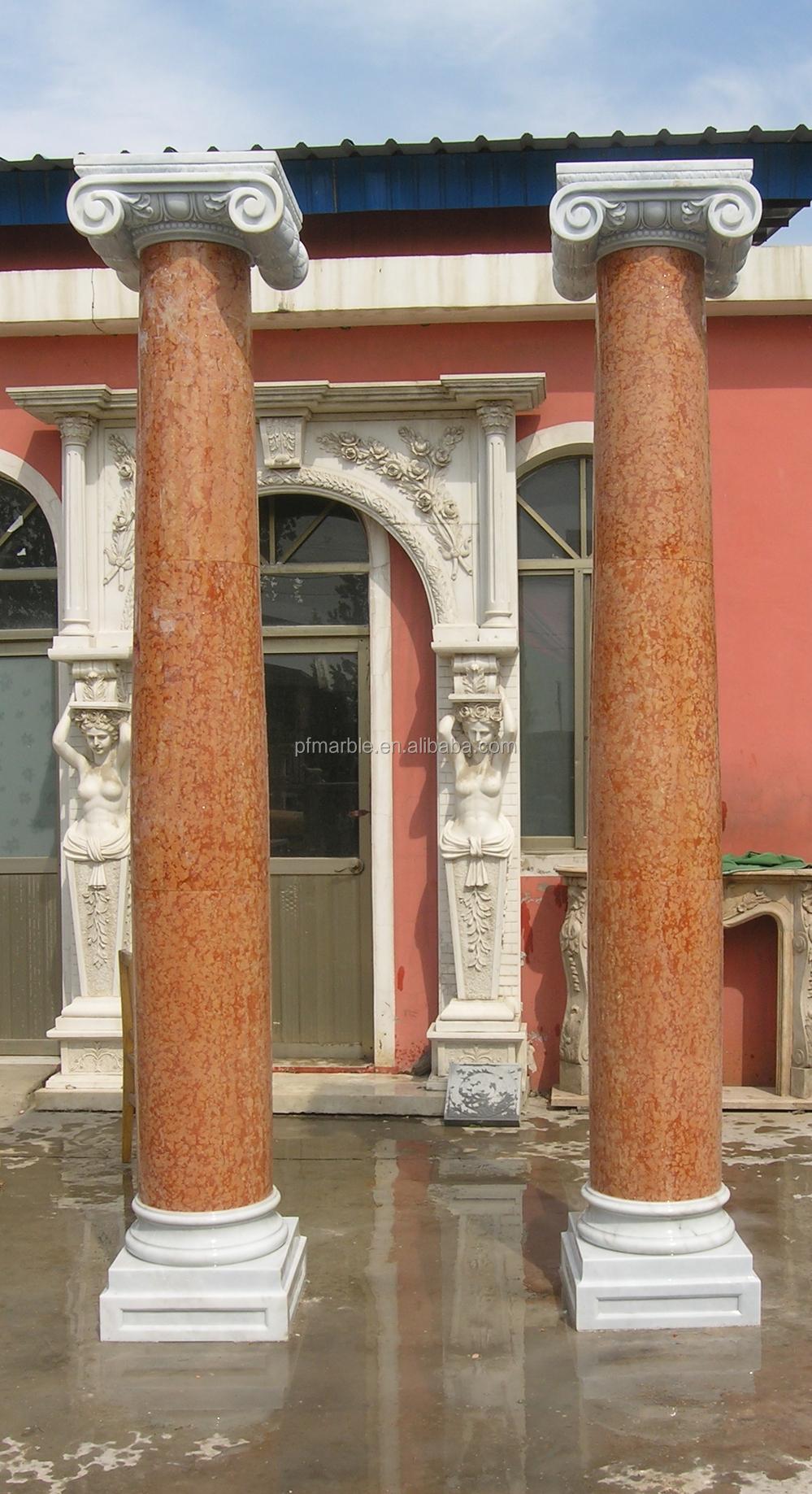 Home Decoration Pillar Roman Pillar Design Granite Gate