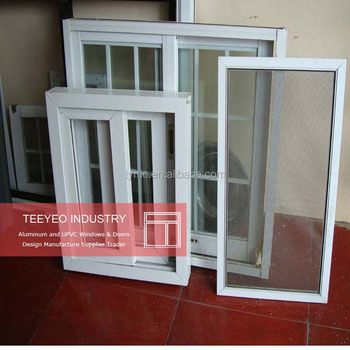 Teeyeo Double Outward Opening Windows With Invisible Mosquito Nets