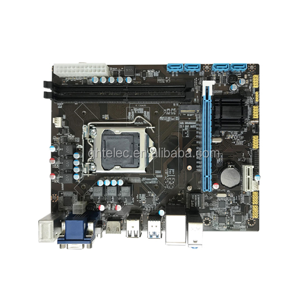 Dual Channel mainboard 1151 pc mini itx motherboard pc H110