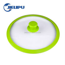 Food grade silicone glass pan lid