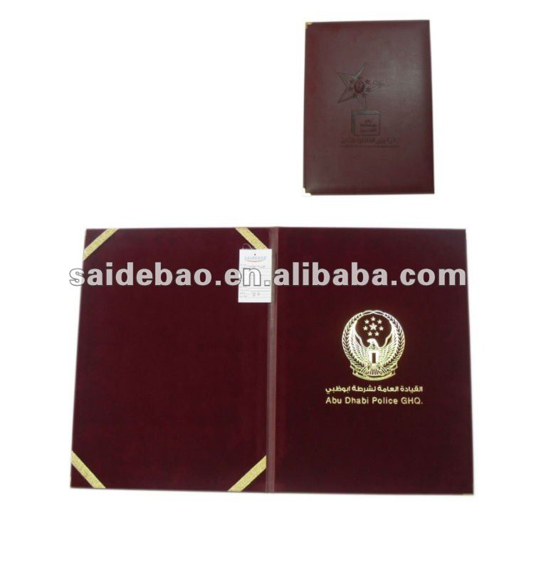 Top Sale Leather Certificate Holders For Studentsemployees Buy A4