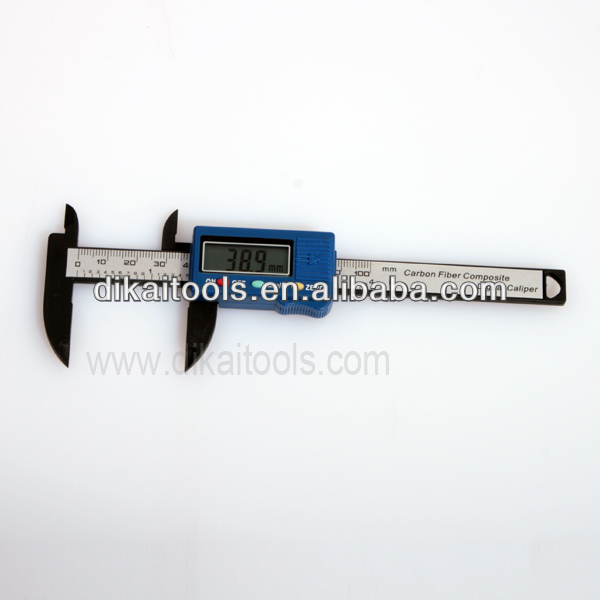 Digital caliper for diamond / jeweller measureing tool
