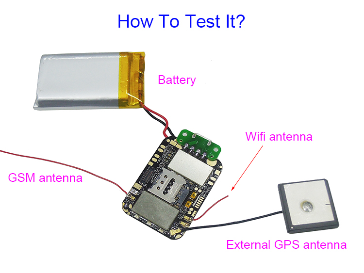 Smallest programmable Android 3G GPS tracking device ZX810 with I/O UART GPIO for smart 3G GPS watches/trackers