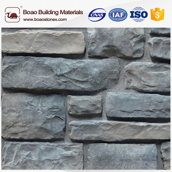 Gefälschte Stein Wasserfall Garten Abstellgleis Stein Wanddekoration