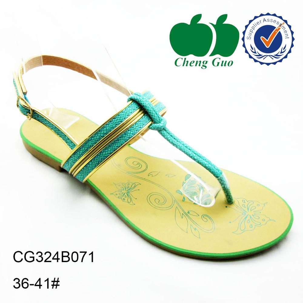 8cada71d1da0 2015 Aerosoft summer ladies lightweight green soft pvc material sandal shoes  for bulk