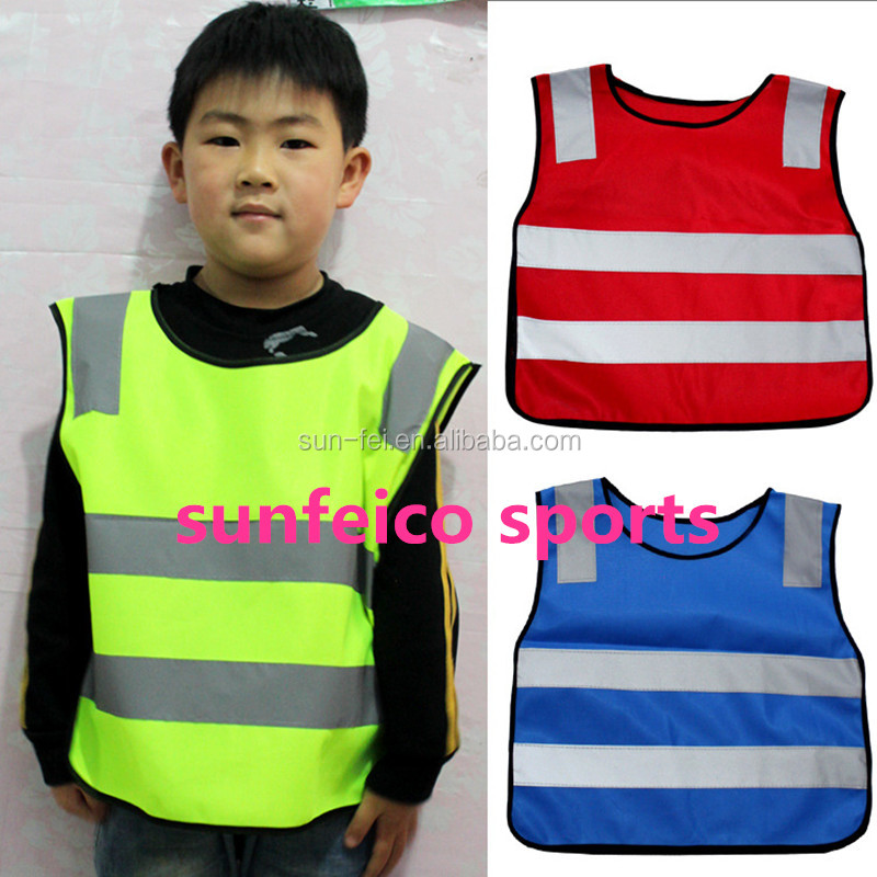 696463463c84 Small Moq - 2018 Children s Kids Reflective Vest - Running Cycling ...