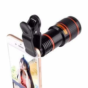 Cell Phone Camera Lens Universal Zoom 12X Mobile Phone Telescope Lens for iPhone Android Smartphone