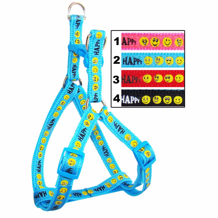 No Pull Dog Harness Length Adjustable Step In Walking Pet Harnesses for Medium Large Dogs Pitbulls
