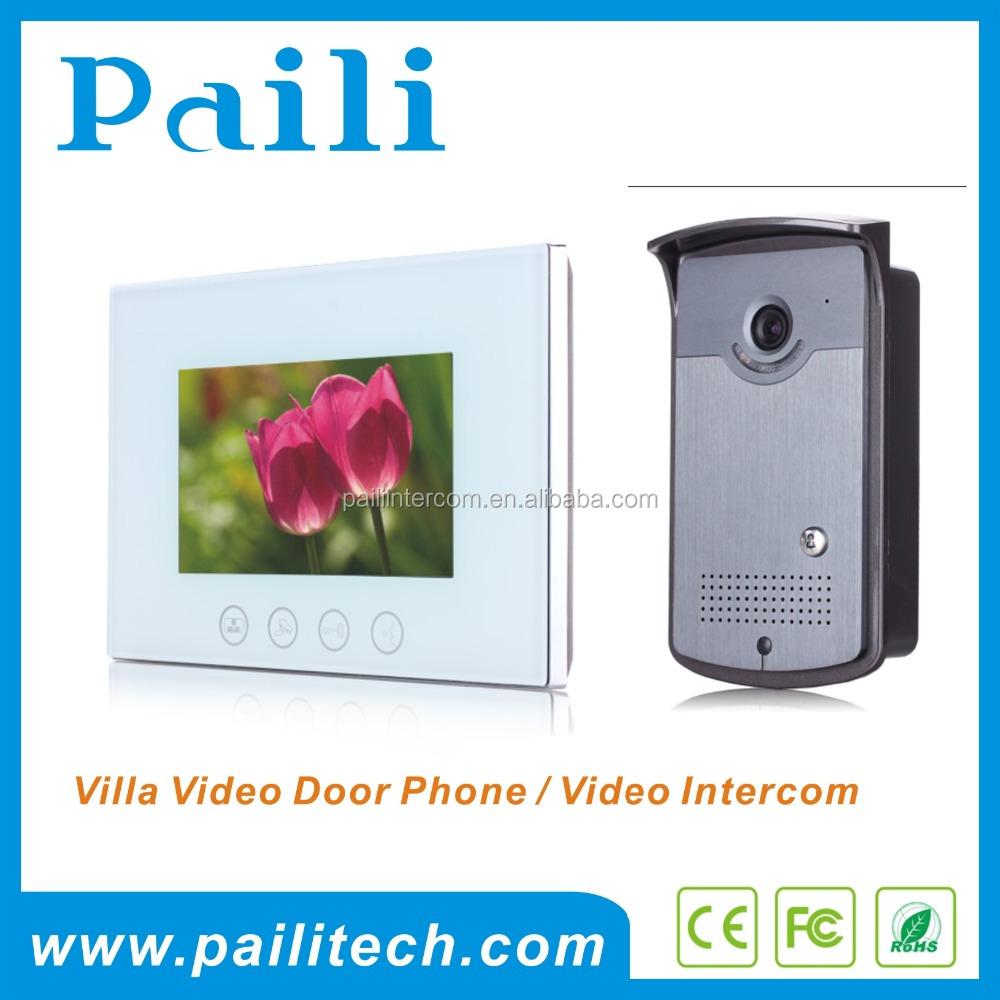 Paili Video Door Phone Door Entry Security System 4 Wires 7inch