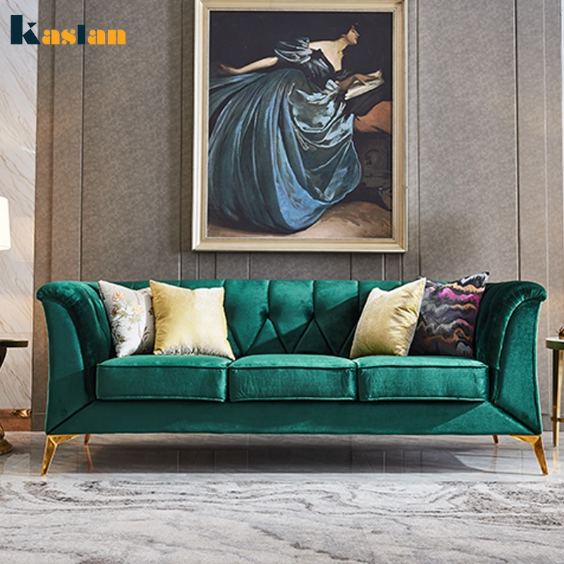Luxury And Modern Style Couch Living Room Sofa Green Velvet Wedding Sofa -  Buy Couch Living Room Sofa,Velvet Sofa,Wedding Sofa Product on Alibaba.com