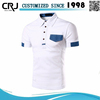 Custom Man Color Combination Polo Shirt