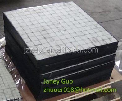 High quality Rubber Ceramic Composite Wear Liner