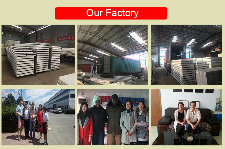 steel frame and roof truss sandwich panel roof