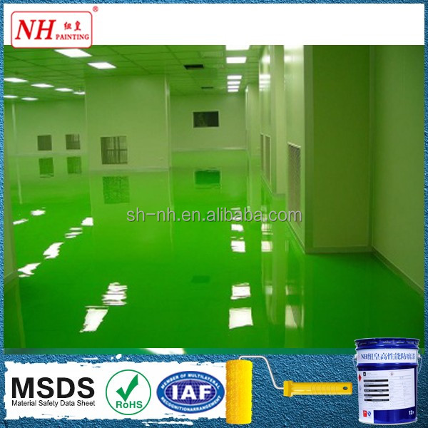 acid stains concrete floor paint water-based Epoxy terrace Coating