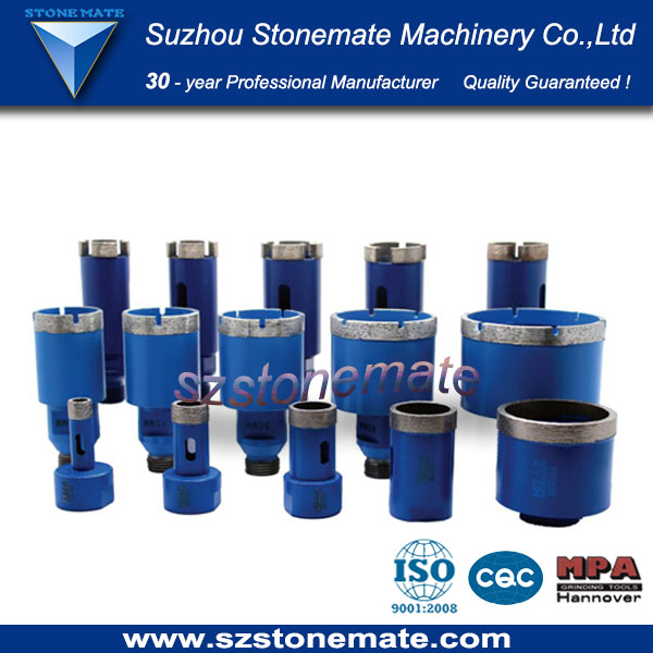 Stonemate stone core drill bit for granite stone
