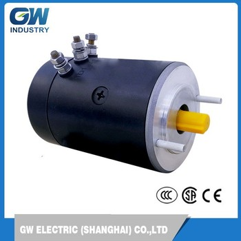 Gw Efficient Industry 700w 24v Brushless Dc Traction Motor