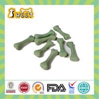 25g/piece Mint Flavor Wholesale Bulk No Rawhide Canine Pet Food Nubby Bone Chew Stick