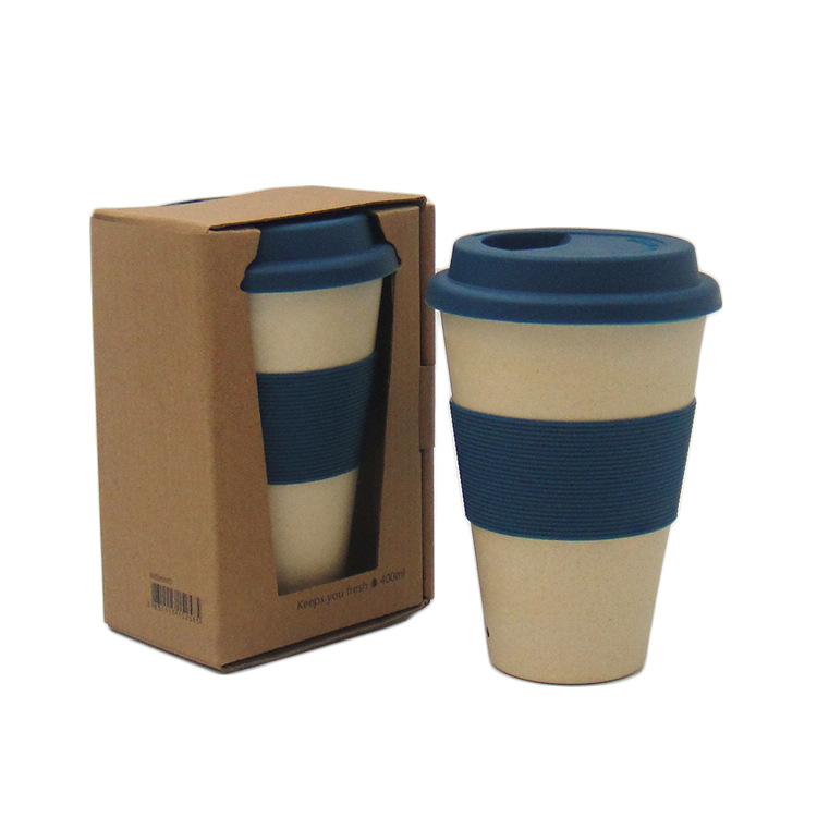 Eco-Friendly double wall Bamboo fiber coffee <strong>cup</strong>