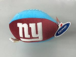 NFL New York Giants Super Bowl XLII Plush Football by Forever