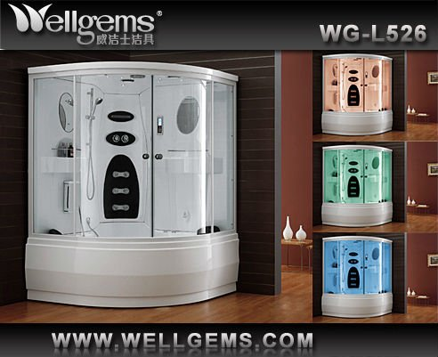 Steam Bath Shower Cubicle Price At Low L526 Sauna Steam House - Buy ...