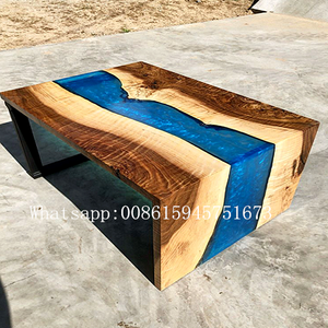 Strong hardness 3H furniture river table AB glue epoxy resin 3D floor AB glue