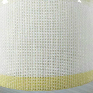 Chinese manufacturer 100% polyester screen mesh fabric for spunlace non woven cloth