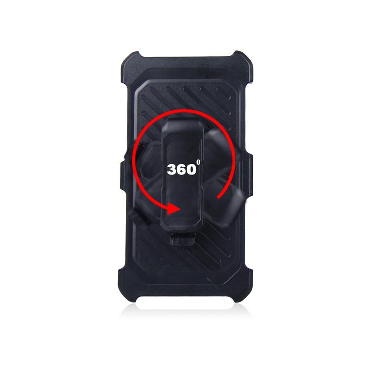 Hybrid Combo Fondina Della Copertura 3 in 1 Heavy Duty per il Caso di iphone