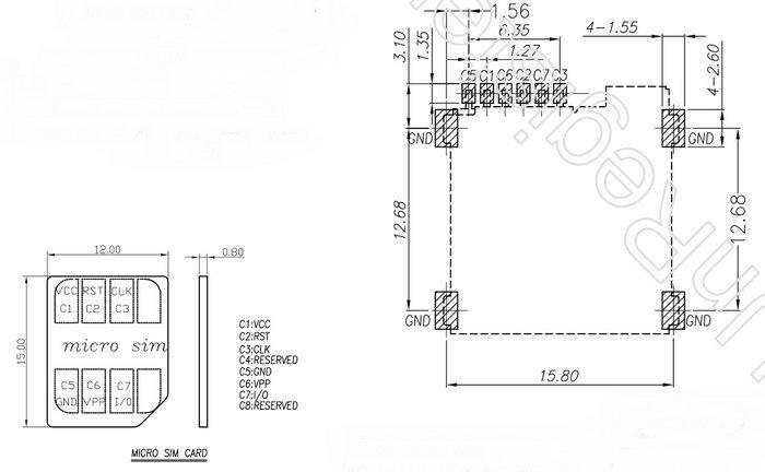 Sim Card Slot Diagram Diy Wiring Diagrams