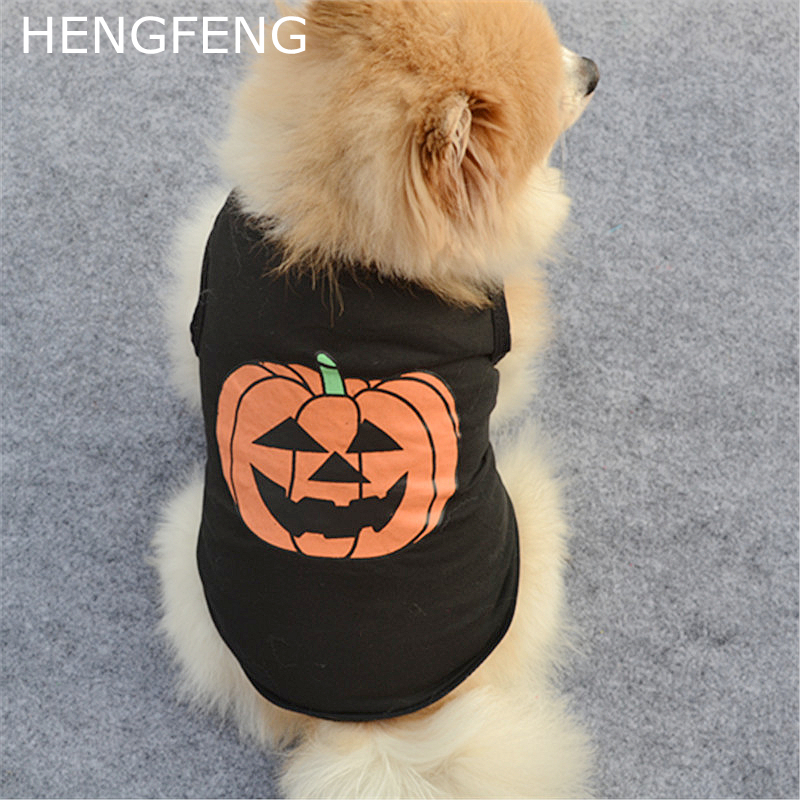 2017 halloween cute dog clothes, pet dog soft clothes