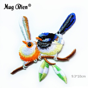 Multicolor Great Quality Handbag Decoration Iron On Bird Patches