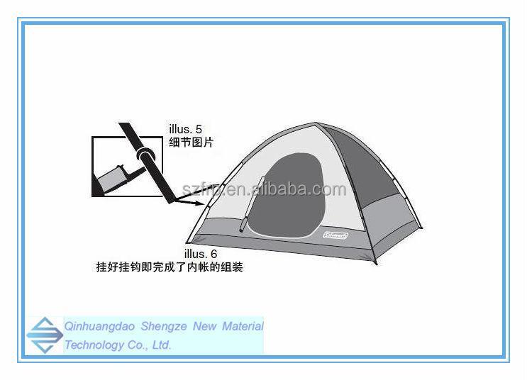 fiberglass tent pole/ flexible fiberglass tent poles/ detachable joint tent rod  sc 1 st  Qinhuangdao Shengze New Material Technology Co. Ltd. - Alibaba & fiberglass tent pole/ flexible fiberglass tent poles/ detachable ...