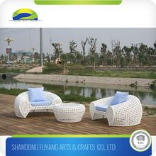 Modern Rattan Coffee Table And Chairs Lounge Chaise