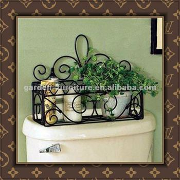 Metal Wall Planter handicraft vintage decorative wrought iron planter metal wall