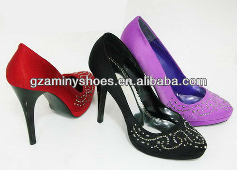 satin Women crystals shoes with crystals shoes satin crystals satin shoes with with Women Women BqAwIE