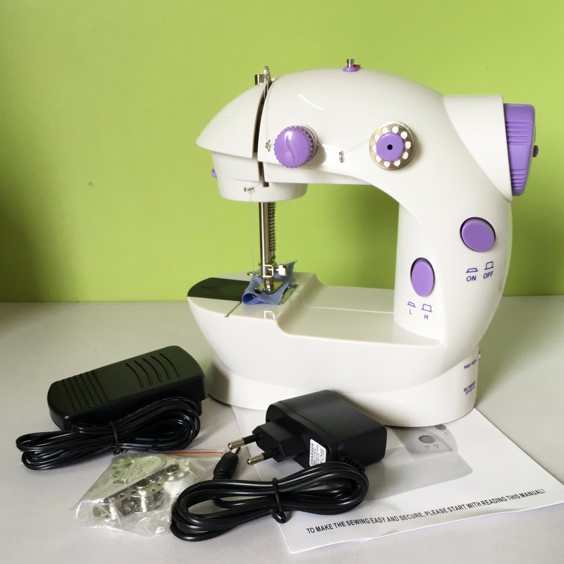 Mini Handheld Sewing Machines Dual Speed Double Thread Multifunction Impressive How To Thread Handheld Sewing Machine