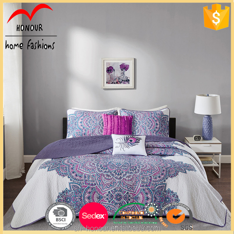 100% polyester bedding king bed set and price cotton sheets