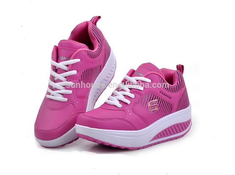 Women High Heel Sport Badminton Shoes