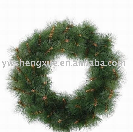 Needle Garland,Christmas Ring,Christmas Wreath,Galand,Christmas ...