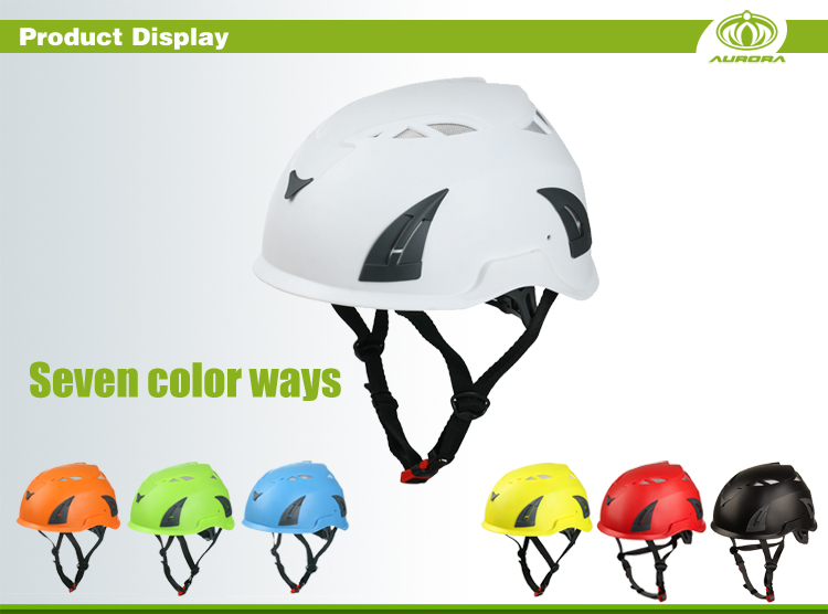 Light weight and Shock resistance Adult Climbing Helmet