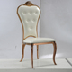 Banquet furniture rose gold stainless steel wedding party chair for sale