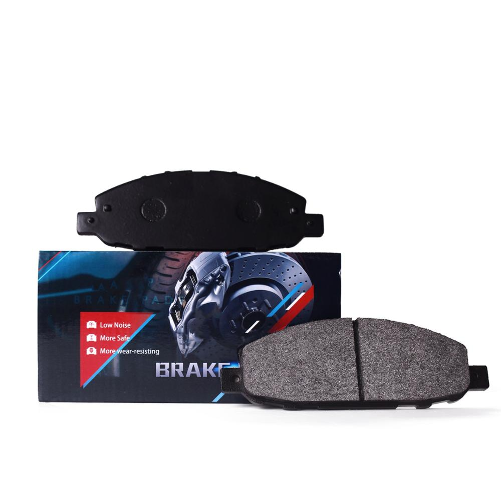 2018 hot koop E-MARK Semimetal formule auto brake pad