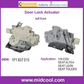 High Quality Door Lock Actuator For Vw Eos 1p1837015 1p1