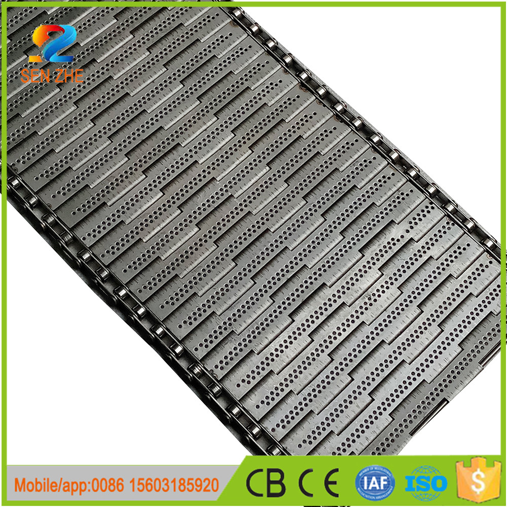 good air permeability perforated muilt hole metallic conveyor belt for dryer