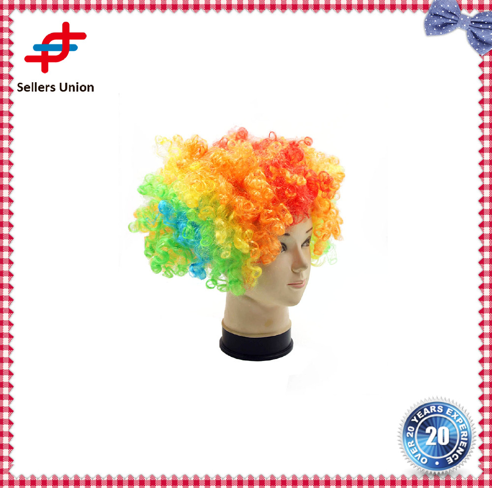 Hair Wigs Explosive Hairpiece cheap fancy factory