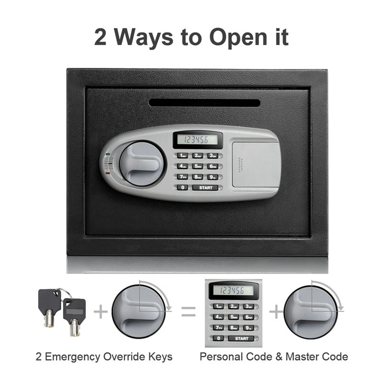 Top Security Hidden Gun Safe Furniture Fingerprint Gun Safe