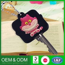 New Product Lowest Price Oem Odm Key Case Colorful Pvc Rubber Silicon Car Key Covers