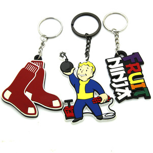2015 keychain manufacturers in china custom floating pvc rubber key chain wholesale