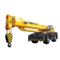 Hot sale RT100 mobile rough terrain Wheeled Crane 100 ton factory price