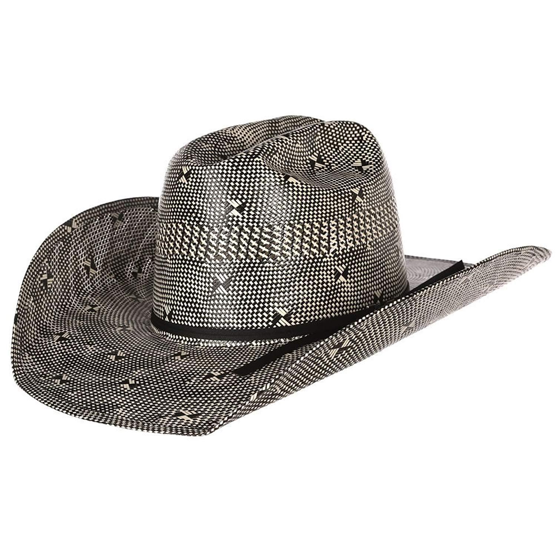 Get Quotations · NRS American Hat Company Mens Two Tone Fancy Vent Ivory  Black 4 1 4 Brim 0fb2f0d26da8